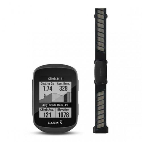 Ciclocomputadora Ciclismo Garmin Edge 130 Plus Bundle Negro