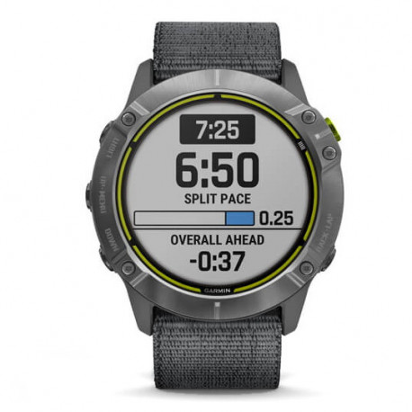 Reloj Garmin Trail Running Enduro Gris