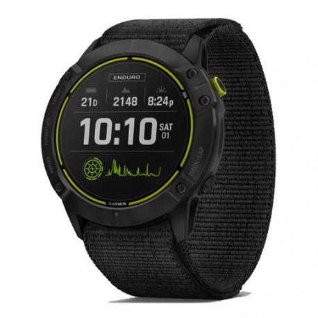 Reloj Garmin Trail Running Enduro Titanio Negro