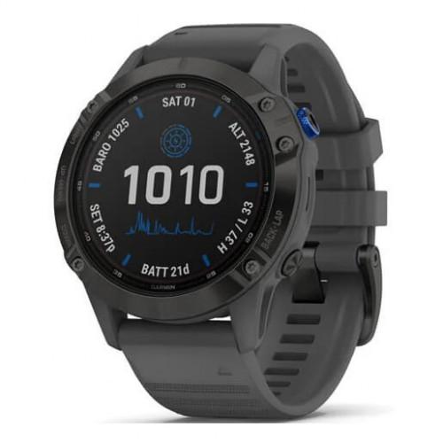 Reloj Multisport Garmin Fenix 6 Pro Solar Gris