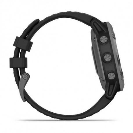 Reloj Garmin Multisport Fenix 6 Pro Solar Negro