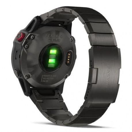 Reloj Garmin Multisport Fenix 6 Pro Solar Gris