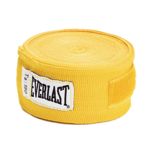 Venda Boxeo Everlast 100 Algodon 180in (4.57 m) Amarillo
