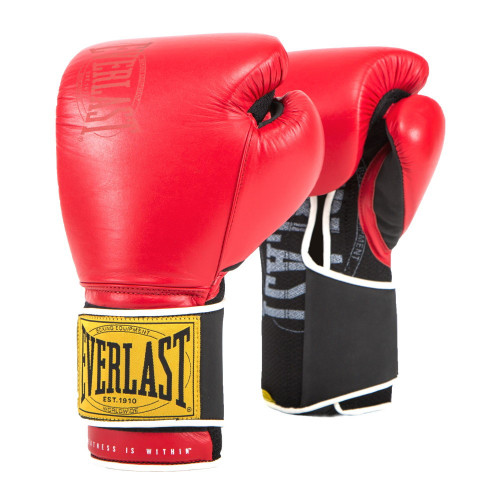 Guantes Boxeo Everlast 1910 Classic Rojo