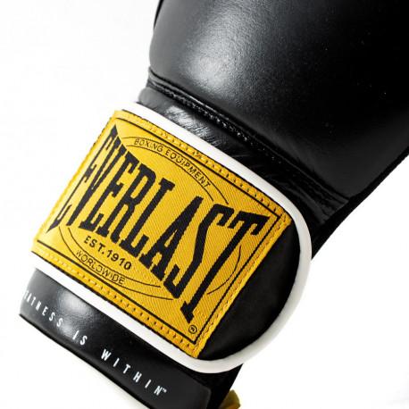 Guantes Boxeo Everlast 1910 Classic Negro