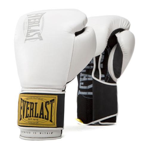 Guantes Boxeo Everlast 1910 Classic Blanco