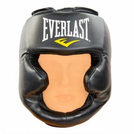 Careta Boxeo Everlast Protector De Cabeza MMA Negro
