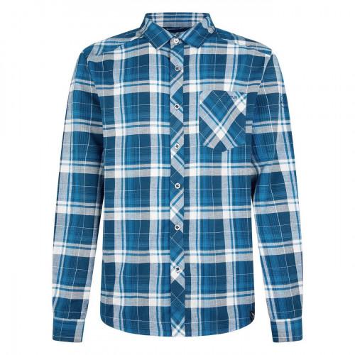 Camisa Escalada La Sportiva Sasquatch Azul Hombre