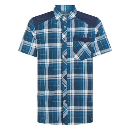 Camisa Escalada La Sportiva Longitude Azul Hombre