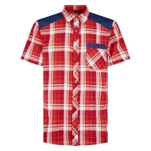 Camisa Escalada La Sportiva Longitude Rojo Hombre