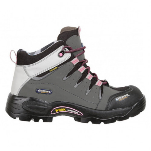 Botas Senderismo Discovery Expedition Blackwood Industrial Gris Mujer