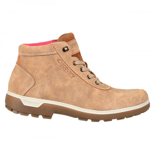 Botas Outdoor Discovery Expedition Sarek Beige Mujer
