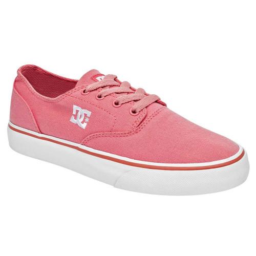 Tenis Skateboarding DC Shoes Flash 2 TX Rosa Mujer