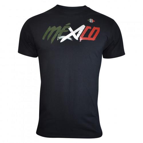 Playera Running Acide Sportswear Mexico Sangre Nueva Negro Hombre