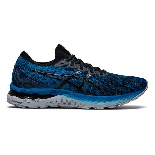 Tenis Running Asics Gel-Nimbus 23 Knit Azul Hombre