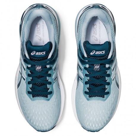Tenis Asics Running Gt-2000 9 Azul Mujer