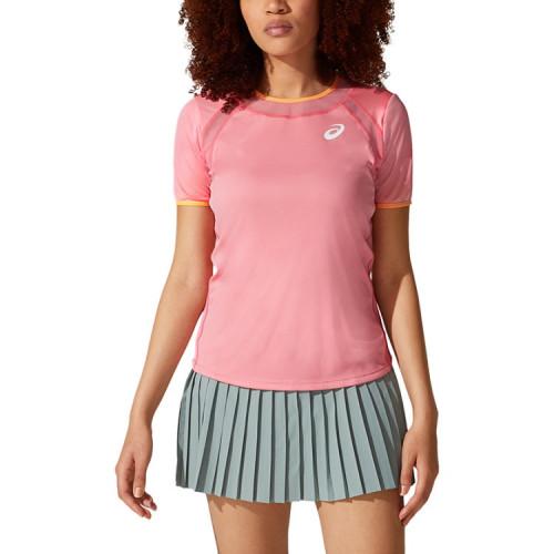 Playera Tennis Asics Match Rosa Mujer