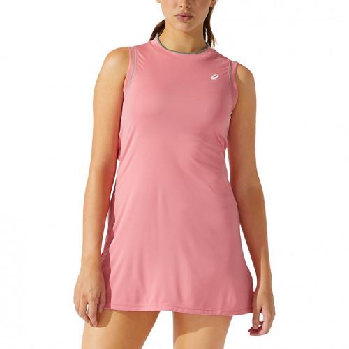 Vestido Tennis Asics Court Rosa Mujer