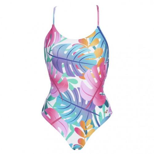 Traje de baño Playa Arena Twist Back Reversible Multicolor Mujer