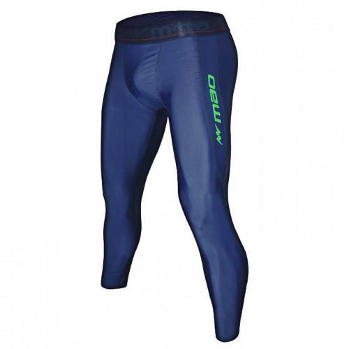 Leggings Fitness MAO ML Azul Hombre