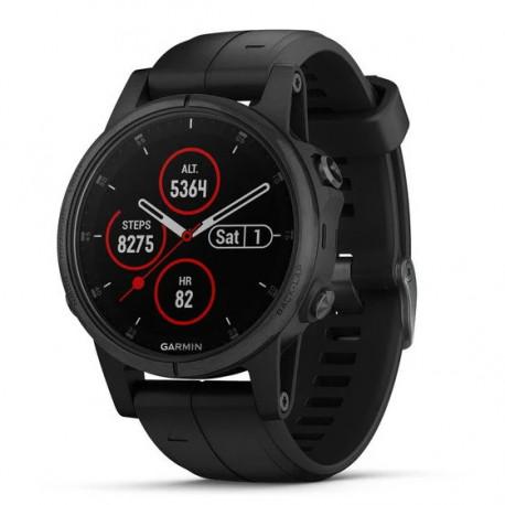 Reloj Garmin Multisport Fenix 5S Plus Sapphire Negro