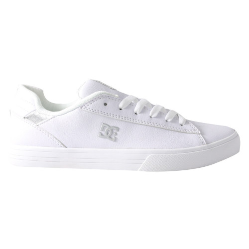 Tenis Skateboarding DC Shoes Notch SN Blanco Mujer