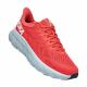Tenis Hoka One One Running Clifton 7 Rojo Mujer