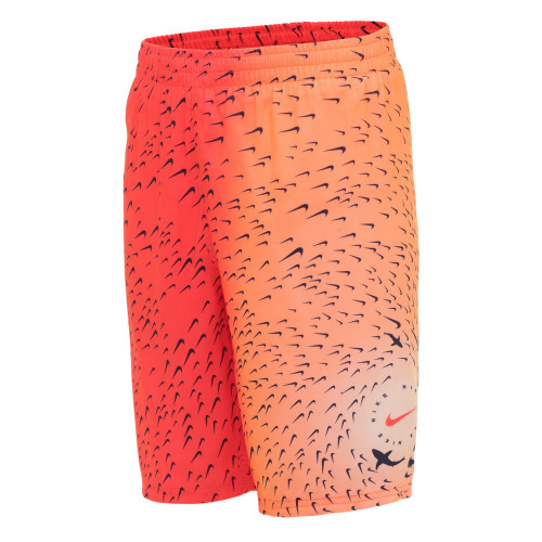 Boardshorts Playa Nike Swim Shark Breaker Rojo Kids