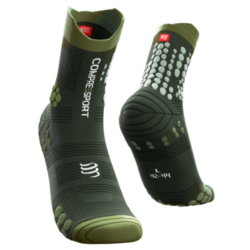 Calcetines Compressport Trail Running Pro Racing V3.0 Verde