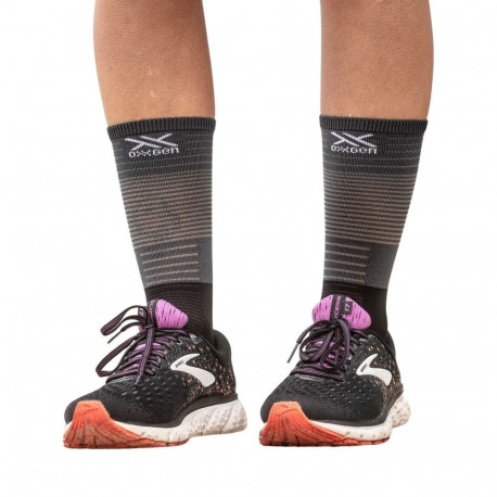 Calcetines Compressport Trail Running Mid Compression Gris