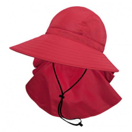 Sombrero Outdoor Sunday Afternoons Sundancer UPF 50+ Rojo Mujer