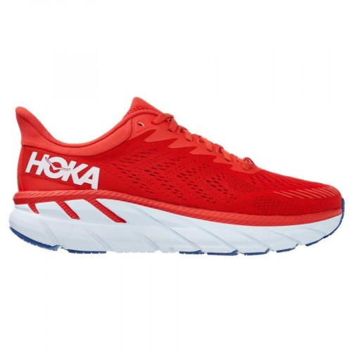 Tenis Hoka One One Running Clifton 7 Rojo Hombre
