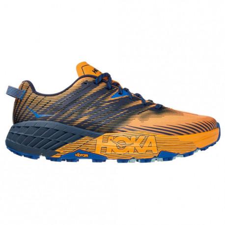 Tenis Hoka One One Trail Running Speedgoat 4 Naranja Hombre