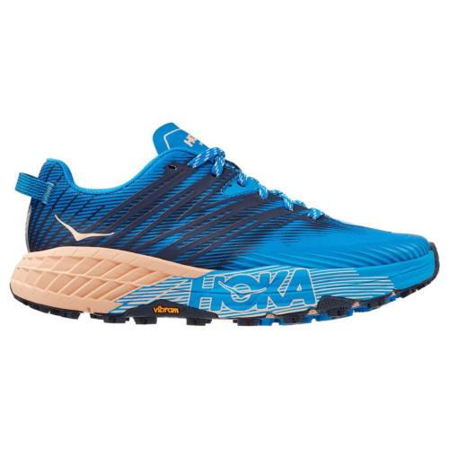 Tenis Hoka One One Trail Running Speedgoat 4 Azul Mujer