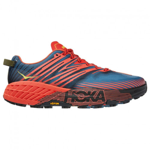 Tenis Hoka One One Trail Running Speedgoat 4 Multicolor Hombre