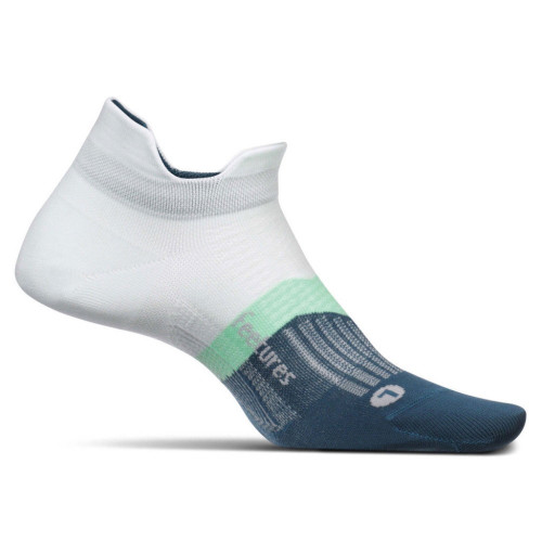 Calcetines Running Feetures Ultra Light No Show Blanco