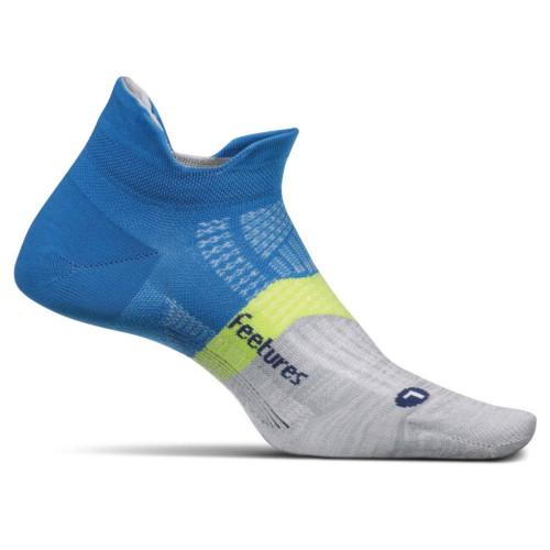 Calcetines Running Feetures Light No Show Azul