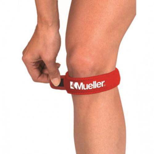 Cinta Mueller sports medecine Fitness Jumpers Knee Strap Rojo
