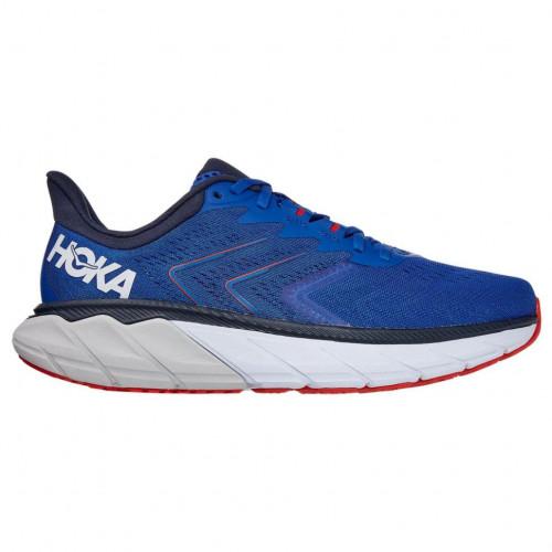 Tenis Hoka One One Running Arahi 5 Azul Hombre