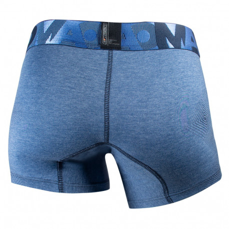 Boxer Fitness MAO Cotton Strap Azul Hombre