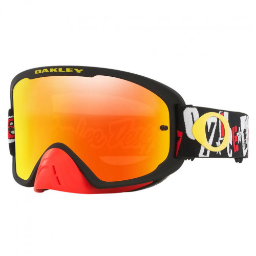 Goggles Oakley MotorSports O Frame 2.0 Pro Mx Fire Iridium Negro