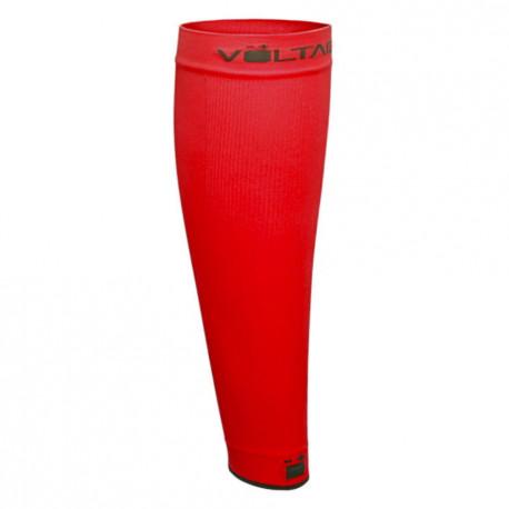 Pantorilleras Voltaica Running Compresor Rojo