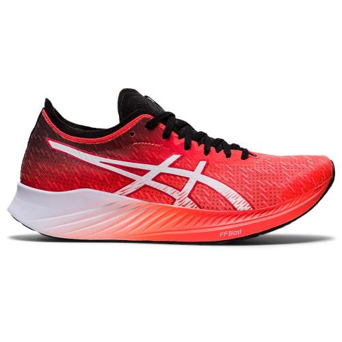 Tenis Running Asics Magic Speed Rojo Mujer