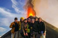 Expedición de volcanes en Guatemala
