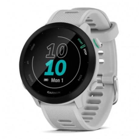 Reloj Garmin Running Forerunner 55 Blanco