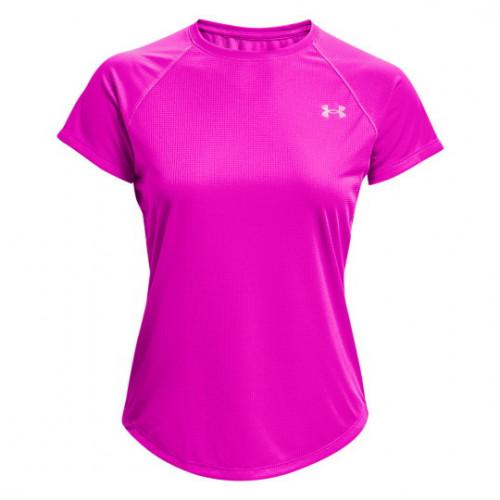 Playera Under Armour Running Speed Stride Short Sleeve Rosa Mujer