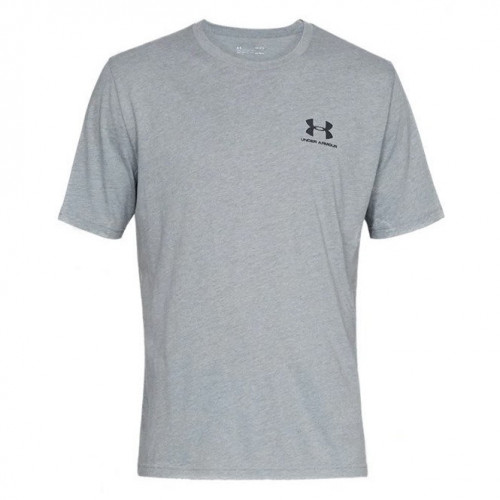 Playera Under Armour Fitness Sportstyle Gris Hombre