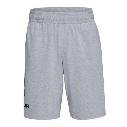 Short Under Armour Fitness Sportstyle Cotton Gris Hombre