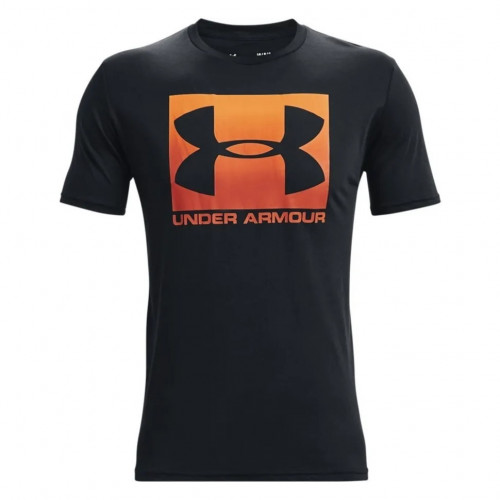 Playera Under Armour Fitness Boxed Sportstyle Negro Hombre