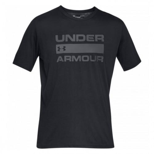 Playera Under Armour Fitness Team Lue Wordmark Negro Hombre